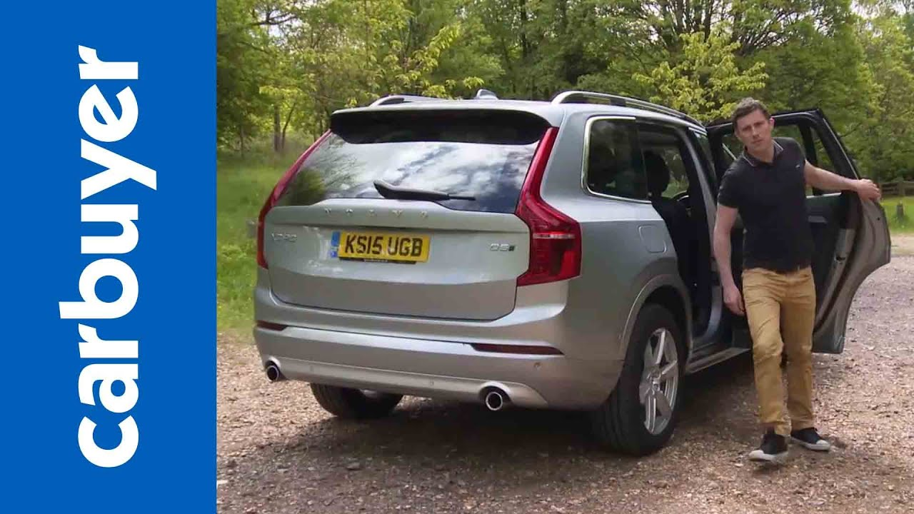 New Volvo Xc90 Suv 2015 Review Carbuyer Youtube
