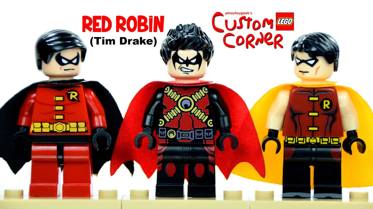 Young Justice Robin Tim Drake And Wonder Girl Red Robin New 52 (Tim ...
