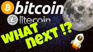 🚀BITCOIN BROKE OUT!! WHAT NEXT??🚀 bitcoin litecoin price prediction, analysis, news, trading