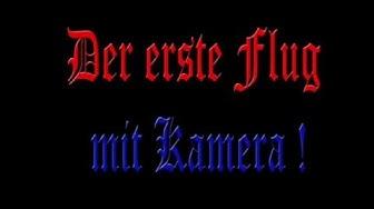 Flug 1 mit Kamera! (Magdeburg Pfahlberg) Part 1