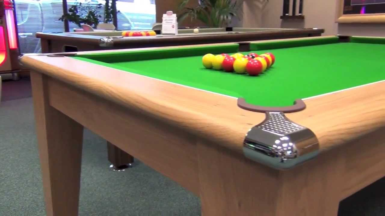 Classic Pool Dining Table YouTube - Classic billiard table