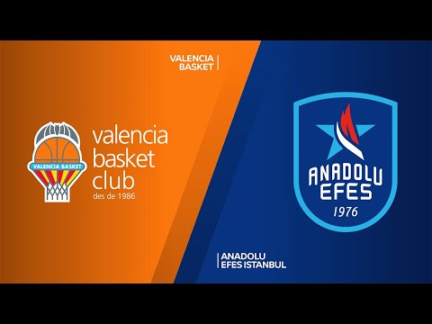 Valencia Basket - Anadolu Efes Istanbul Highlights | Turkish Airlines EuroLeague, RS Round 13