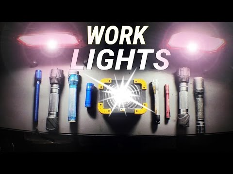 WORK LIGHTS - Let's talk about them