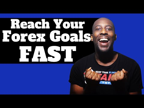 REACH YOUR FOREX GOALS FAST! How To Set Realistic Forex Goals You Actually Achieve Without High Risk