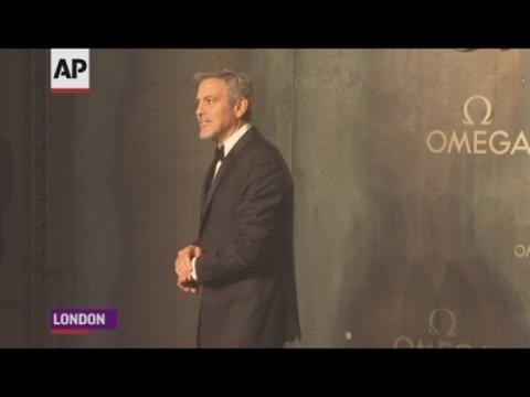 George Clooney meets Buzz Aldrin