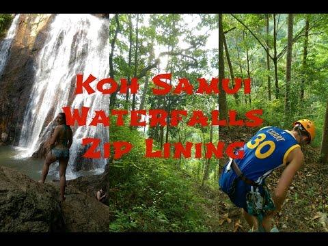 Waterfalls and Zip Lining in Koh Samui Thailand 2016 #7