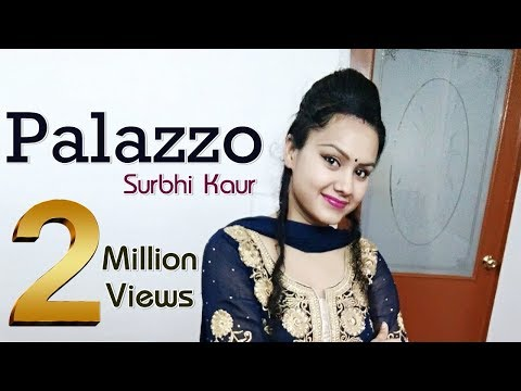 Palazzo Dance Performance Video Punjabi Song by Surbhi Kaur | Kulwinder Billa & Shivjot