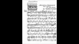 MUISTOJA POHJOLASTA, Willy Larsen harmonikka ja Kosti Tamminen kitara v.1928