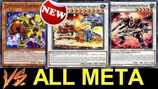 Insane Tech!! New Support!! ALL META DECKS Vs...Superheavy Samurai