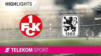 1. FC Kaiserslautern – TSV 1860 München   Spieltag 1, 18/19   Telekom Sport