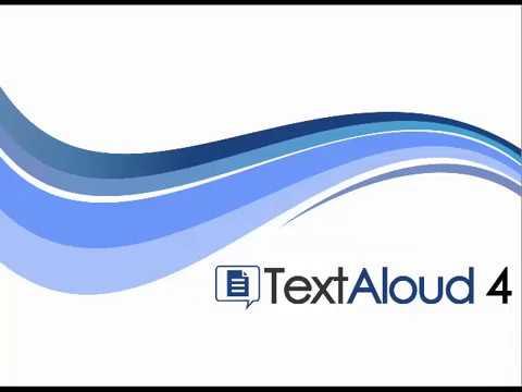 TextAloud 4 Crack