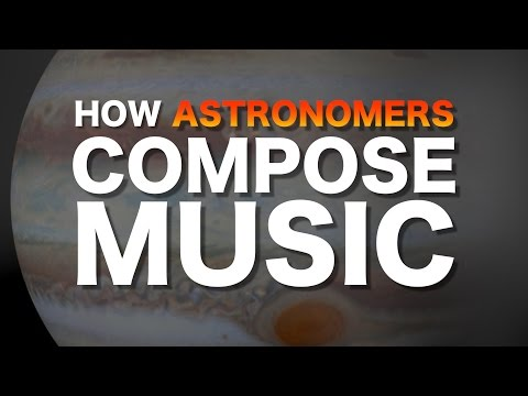 How astronomers compose music