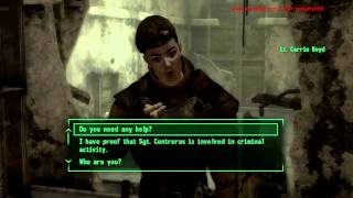 Fallout New Vegas - Quest - 'Dealing with Contreras' & This Machine (Method 2)