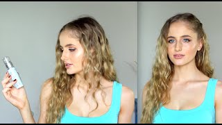How to get Wavey Hair without Heat + Styling Tips Thumbnail