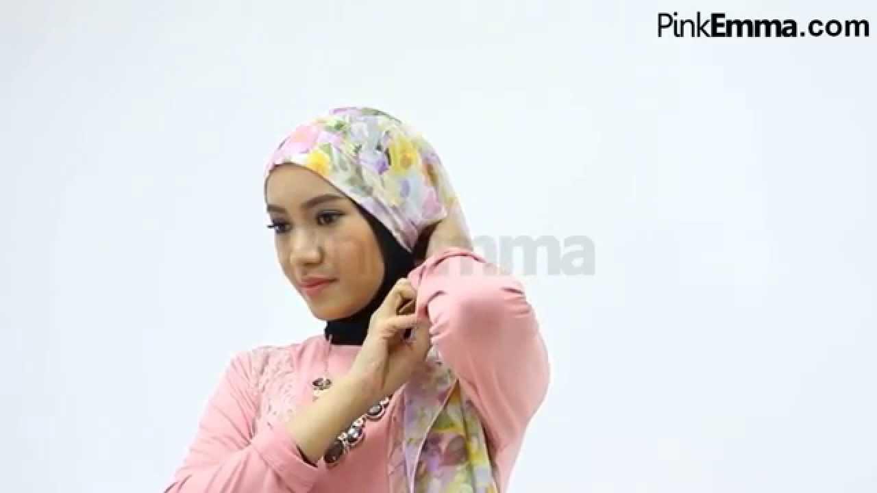 Tutorial Hijab Pashmina Untuk Lebaran YouTube