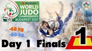 Suzuki World Judo Championships 2017: Day 1 - Final Block