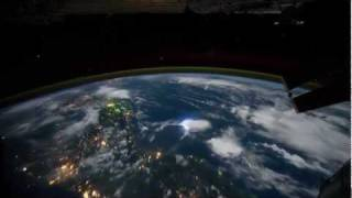Earth  Time Lapse View from Space  Fly Over Nasa ISS