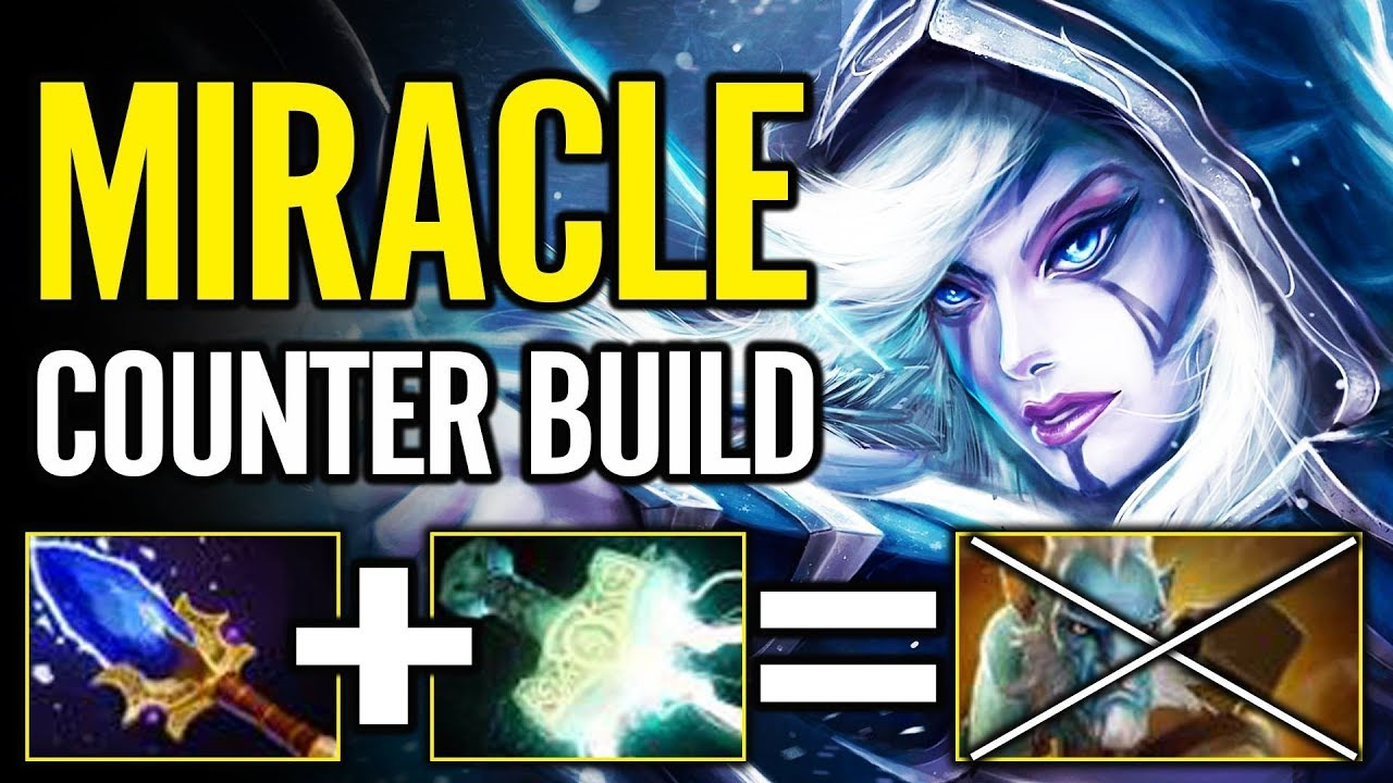 Extreme Counter Build By Miracle Drow Ranger Vs Pl What A Player