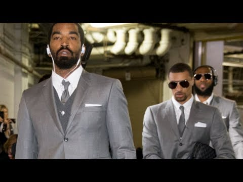 LeBron James TROLLED For Making Entire Cavs Team Wear Matching Suits!