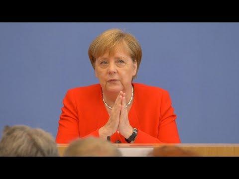 Kanzlerin Angela Merkel | Komplette BPK vom 19. Juli 2019