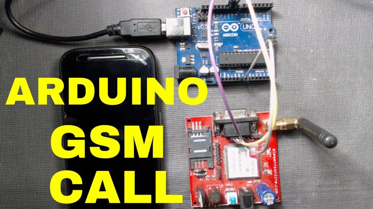 GSM SIM900a Arduino (Call)   Arduino GSM module tutorial