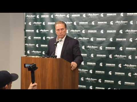 Tom Izzo discusses controversial ending vs FGCU