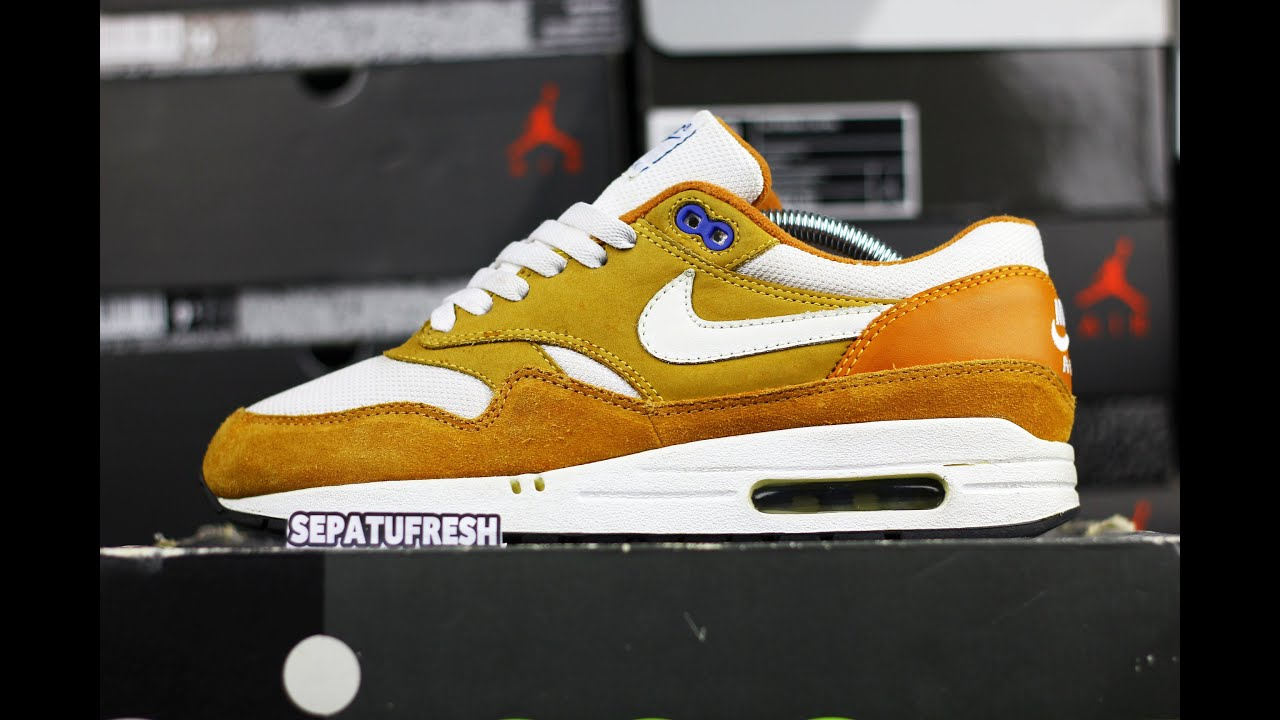 ULTRA RARE NIKE AIR MAX 1 CURRY SAMPLE