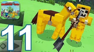 Minecraft PE: Adventure Time Survival - Gameplay Walkthrough Part 11 (iOS, Android)