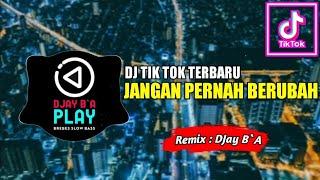 Download DJ JANGAN PERNAH KAU COBA UNTUK BERUBAH ♫  SLOW REMIX TIK TOK TERBARU !