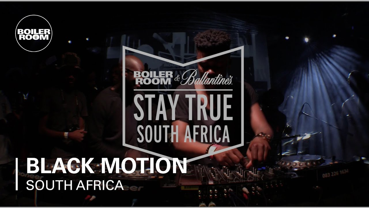 Download Black Motion Boiler Room & Ballantine's Stay True South Africa DJ Set