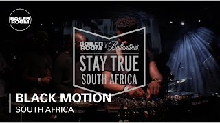 Black Motion Boiler Room & Ballantine