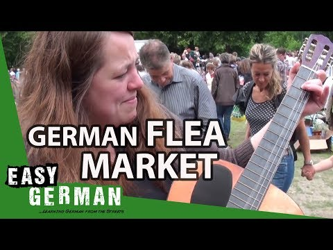 German Flea Market | Easy German 37