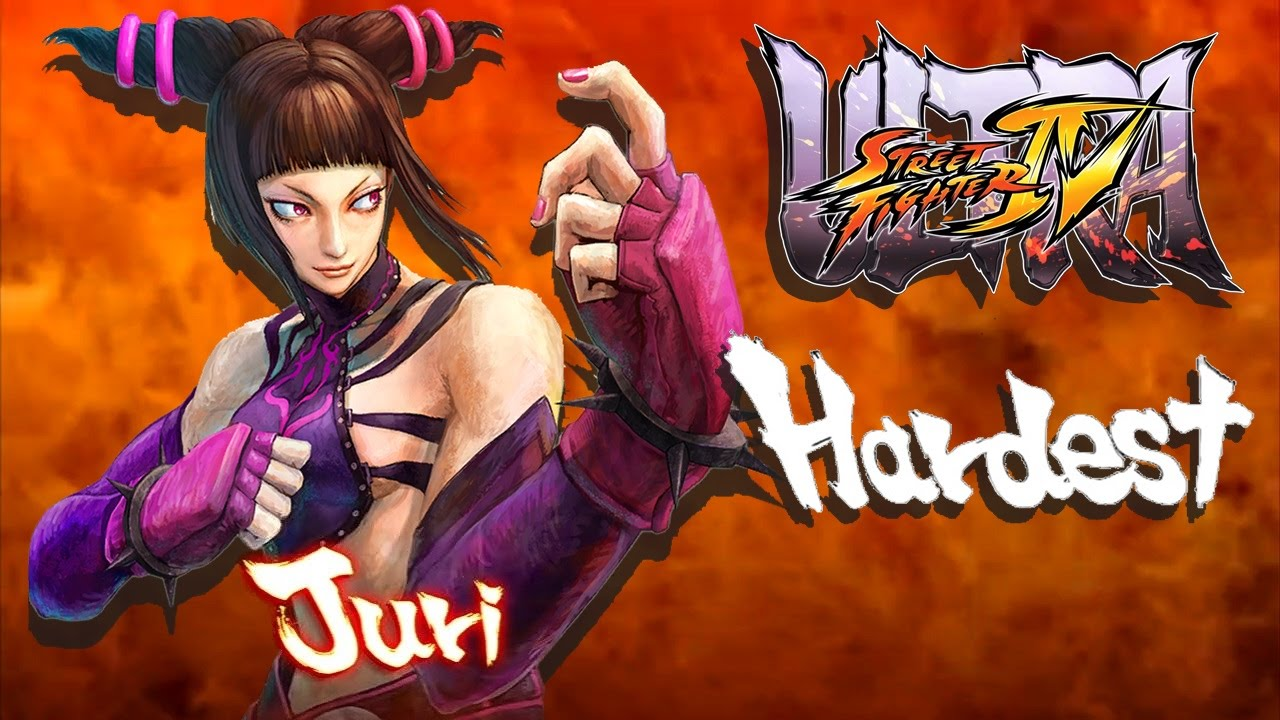 Ultra Street Fighter IV - Juri Arcade Mode (HARDEST)
