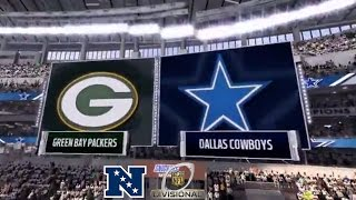 Madden 17: Green Bay Packers Vs Dallas Cowboys (2017 NFC Divisional Match-Up)