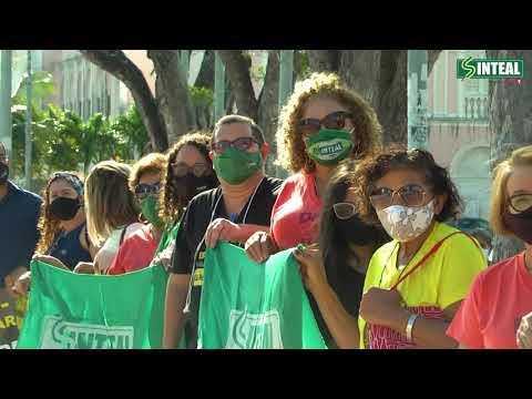 Sinteal entrega ao Tribunal de Justiça, petição contra a Reforma da Previdência Estadual.