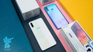 So sánh Huawei P30 Lite & Samsung Galaxy A50