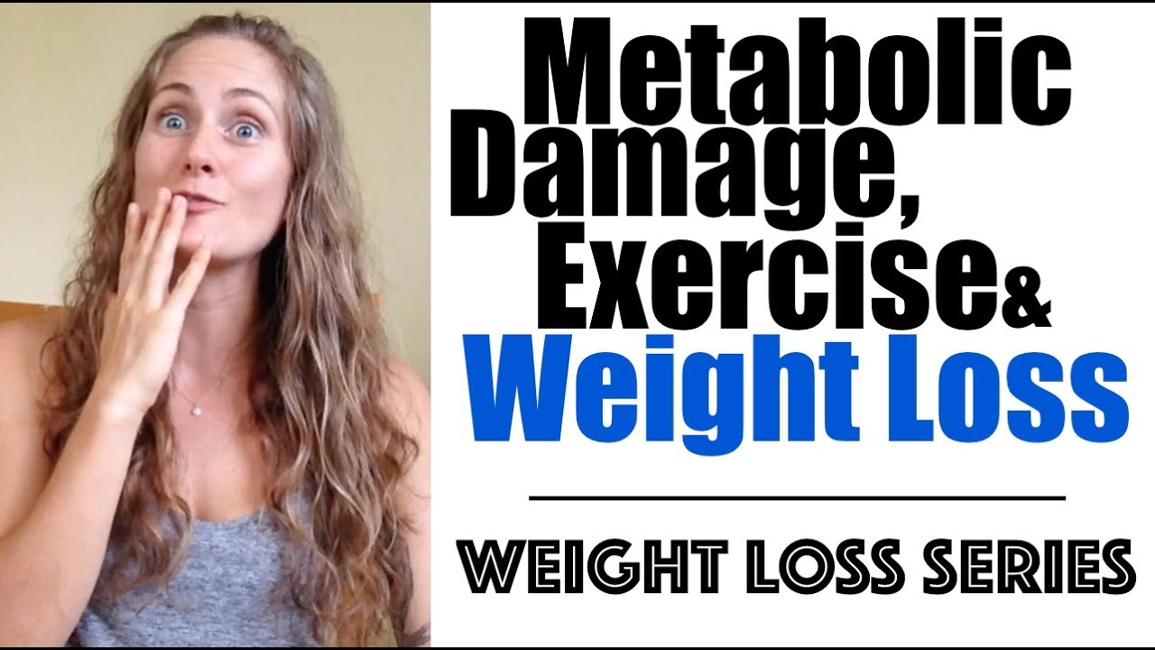 how to lose weight after metabolic damage