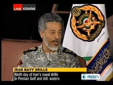 01 january 2012 live interview with iran's navy commander ra
