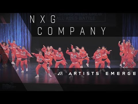 [1st Place] NXG COMPANY |  MEGACREW ALL-STARS  |  Artists Emerge 2018