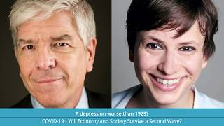 July 15th, live on Zoom: A Depression worse than 1929? Interview with Nobelist Paul Romer