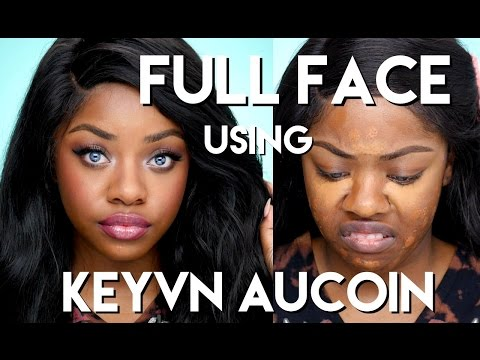 FULL FACE Using Kevyn Aucoin | Cydnee Black