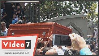 """تشييع جثمان النائب سيد فراج من مسجد """"بهجة الاسلام"""""""