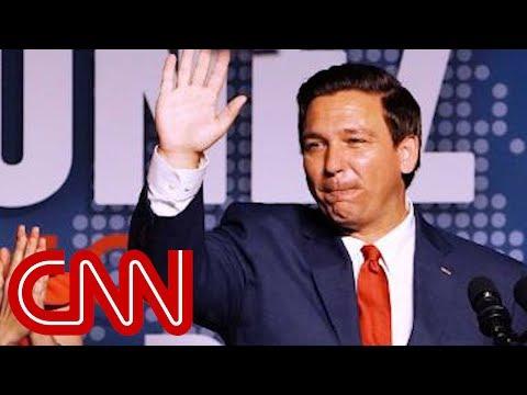 Ron DeSantis thanks Trump in victory speech