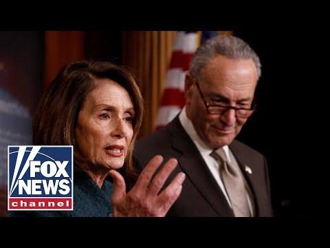 Speaker Pelosi, Senator Schumer hold a press conference