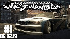 NFS MOST WANTED Stream Lets Play #1 | Stream vom 06.02.19 1/2