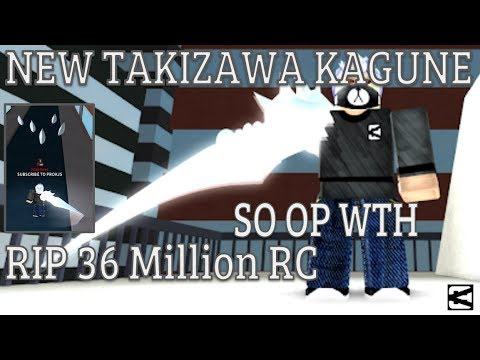 NEW TAKIZAWA KAGUNE   NEW 100K RC CODE   RIP 36M RC   3 RANGED ABILITIES   Ro-Ghoul