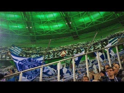 BORUSSIA M´GLADBACH – FC SCHALKE 04 16.03. SCHALKE FANS AUSWÄRTS EURO LEAGUE  in GLADBACH HD