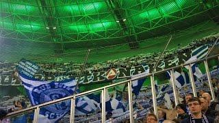 BORUSSIA M´GLADBACH - FC SCHALKE 04 16.03. SCHALKE FANS AUSWÄRTS EURO LEAGUE  in GLADBACH HD