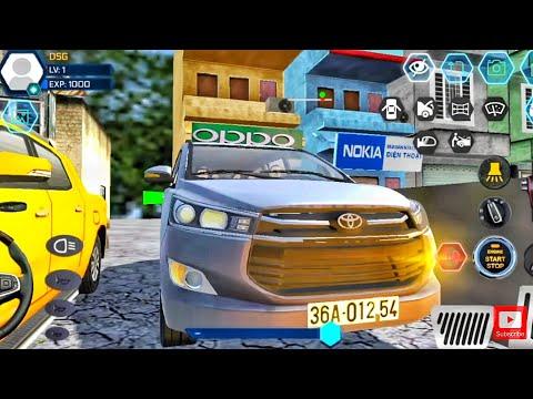 Toyota Innova Driving In Car Simulator Vietnam Android Gameplay #4   Car #drivingsimulator City Tour