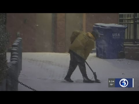 VIDEO: Chiropractor reminds folks about snow shoveling safety